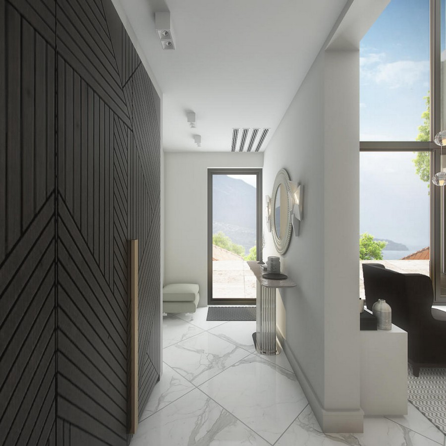 Corridor Design: Gorgeous Contemporary Villa In Montenegro (Part 1)
