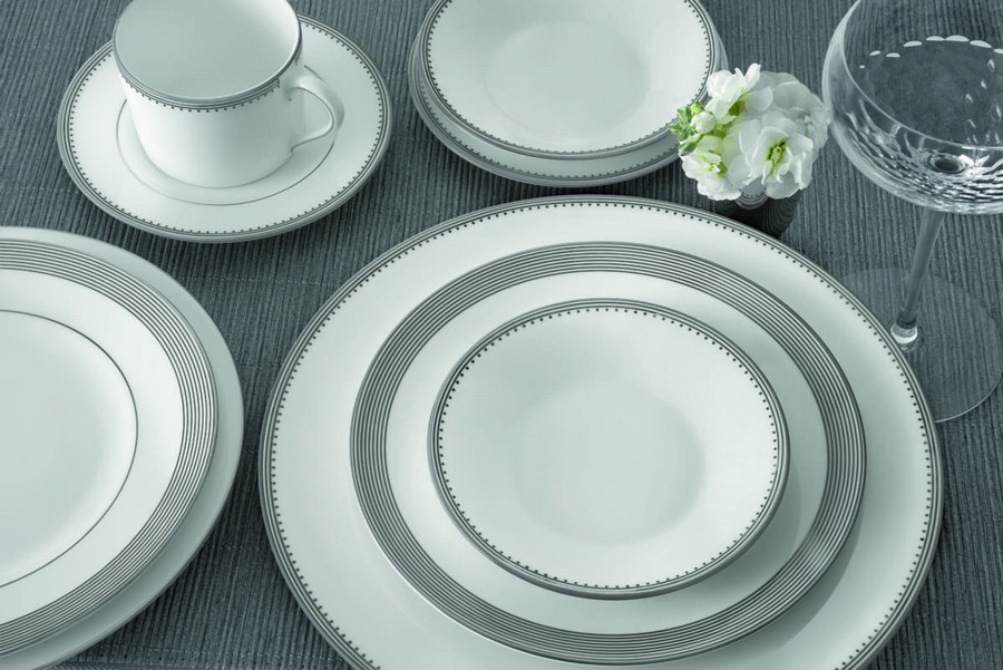 4-Grosgrain-English-porcelain-china-tea-set-gray-and-white-minimalist-laconic-saucers-cups-dishes
