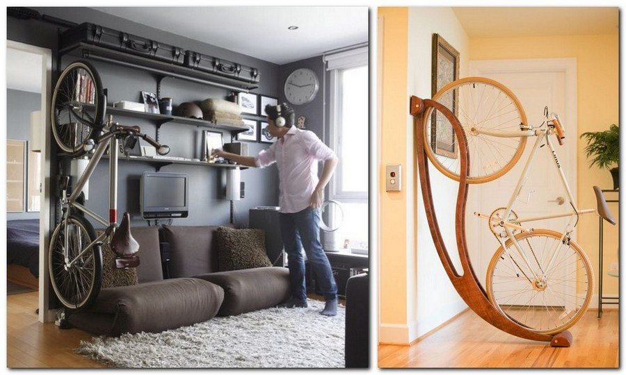 4-creative-bike-bicycle-storage-idea-decorative-interior-partition-zoning-space