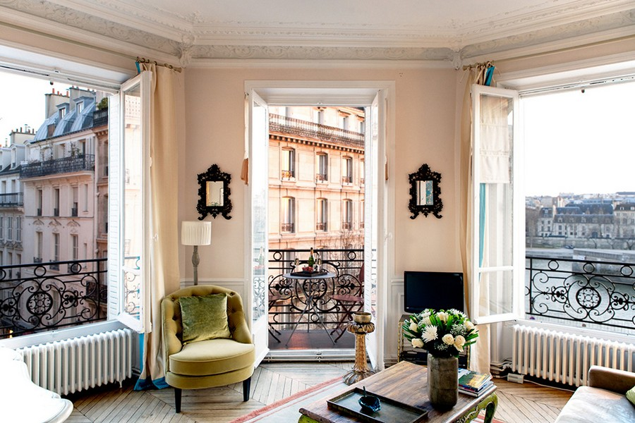 4 Modern French Apartment Interior Design France Living