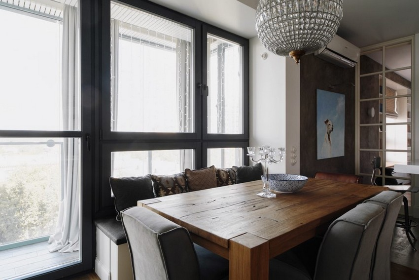 5-2-minimalist-style-white-walls-and-gray-apartment-interior-design-dining-room-set-wooden-table-panoramic-window-balcony-exit
