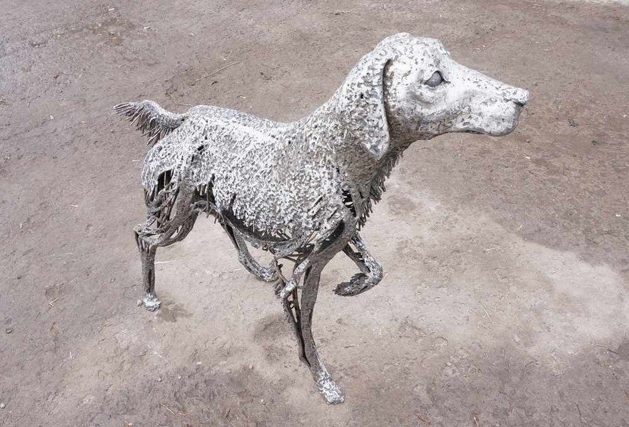 5-Vadim-Kuleshov-Russian-sculptor-metal-garden-sculpture-forged-art-dog