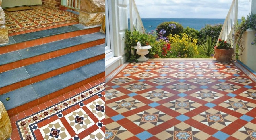 6-Mettlach-tiles-in-exterior-design-stairs-porch-terrace