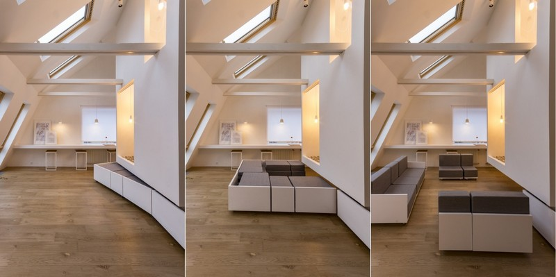 design modular furniture home. 7-attic-floor-interior-design-in-contemporary-modern- Design Modular Furniture Home