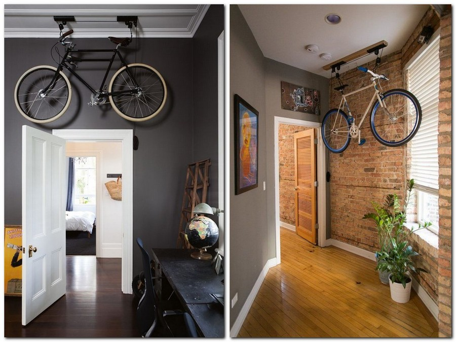 8 Creative Bicycle Storage Ideas Home Interior Design