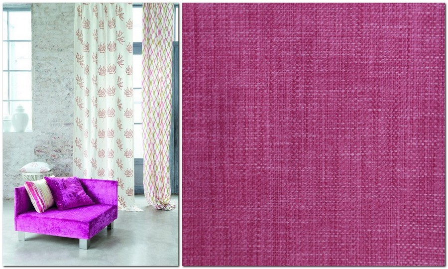 7-fuchsia-color-in-home-textile-curtains-fabric-interior-design