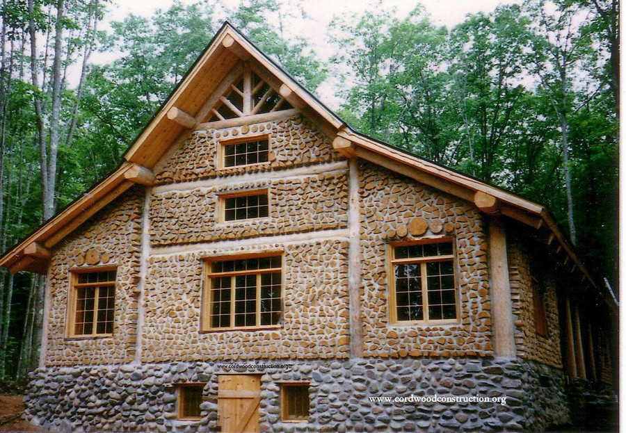 Cordwood houses interesting facts and tips home for Home building sites