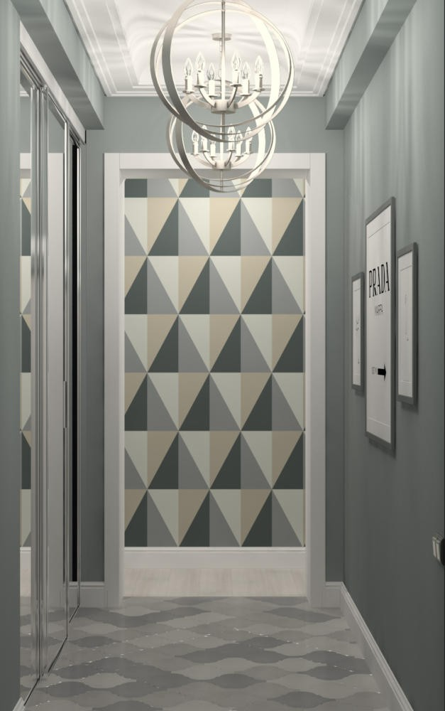 0-painted-multicolored-entrance-door-with-geometrical-diamond-pattern-hgray-and-beige-graphite-wall-posters-built-in-closet-mirror