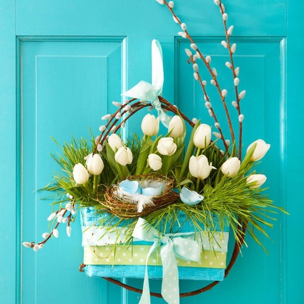 0-spring-home-decor-decoration-ideas-flowers-door-white-tulips-basket