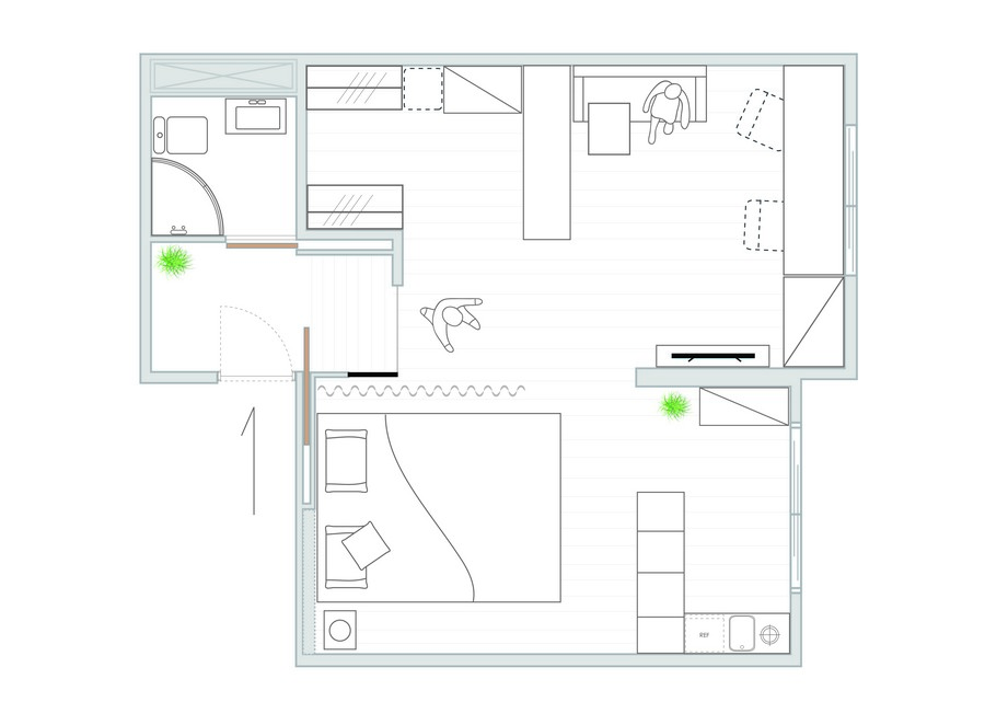 0-studio-apartment-plan-scheme-layout-walk-in-closet-bedroom-lounge-work-area