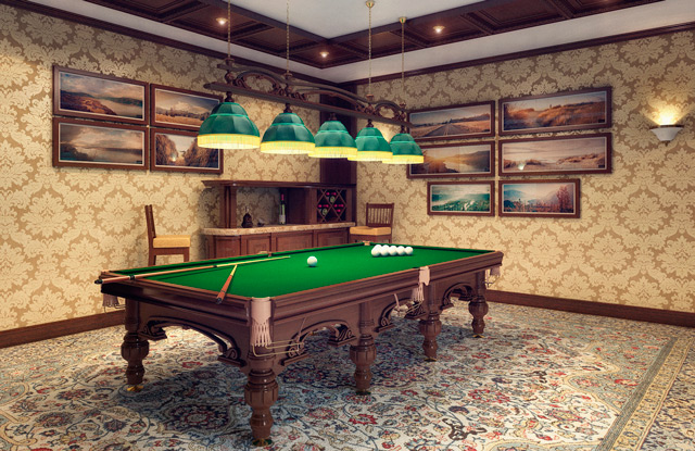 Billiards Room Interior Design Tips And Ideas Home Interior Design Kitchen And Bathroom Designs Architecture And Decorating Ideas