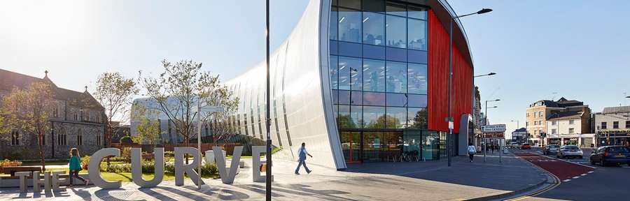 1-0-the-Curve-cultural-centre-Slough-England- & 3 Modern Architecture Projects: England China Philippines | Home ...