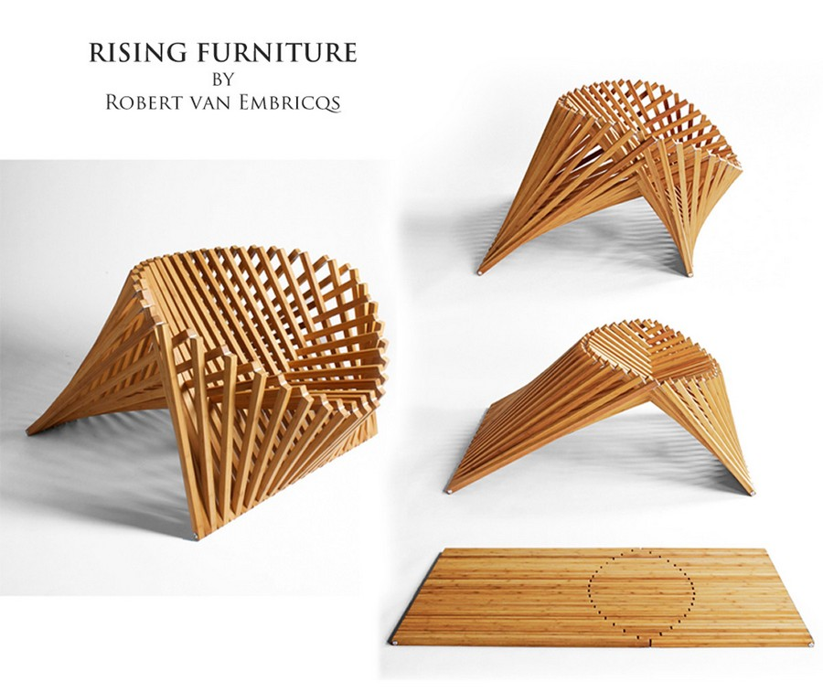 The Rising Chair By Robert Van Embricqs Home Interior