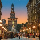 1-Milan-city-Italy-street-downtown-histroric-sights