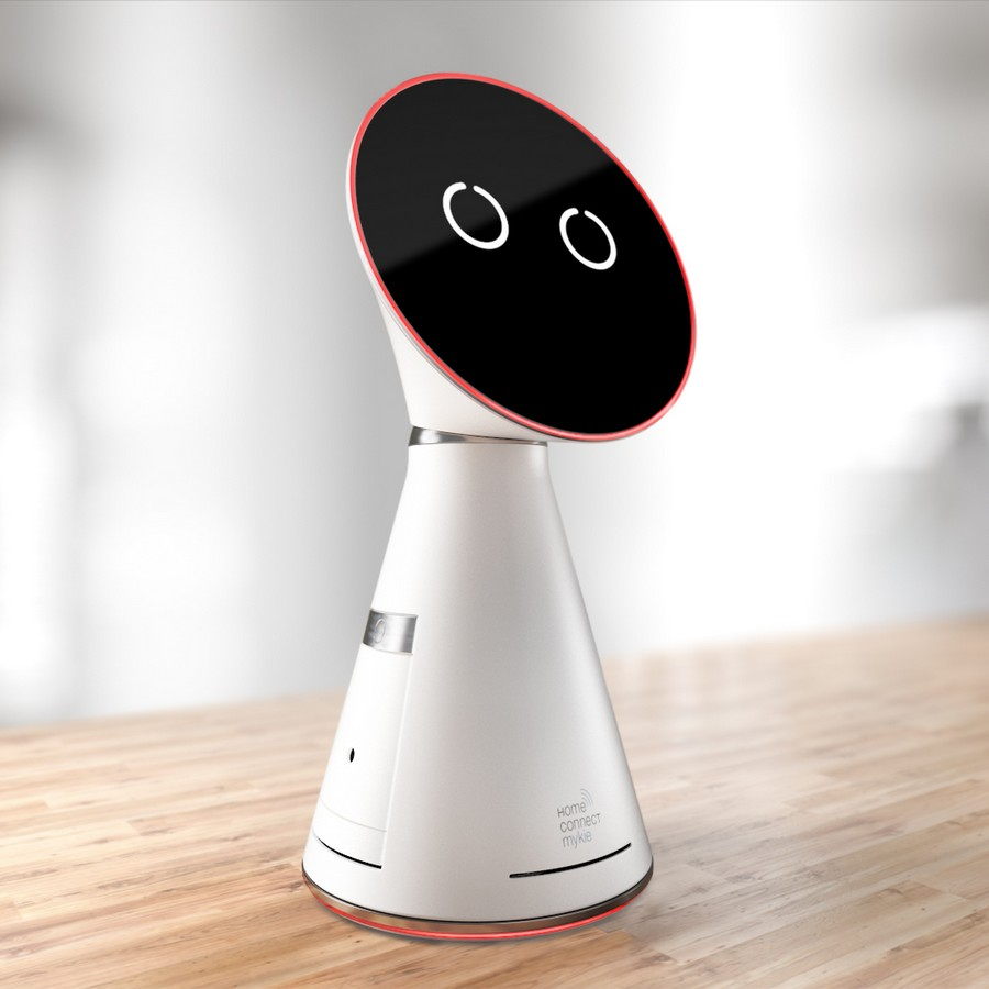 1-Mykie-Bosch-Siemens-Home-Connect-smart-kitchen-assistant-countertop-robot-voice-operated-with-projector