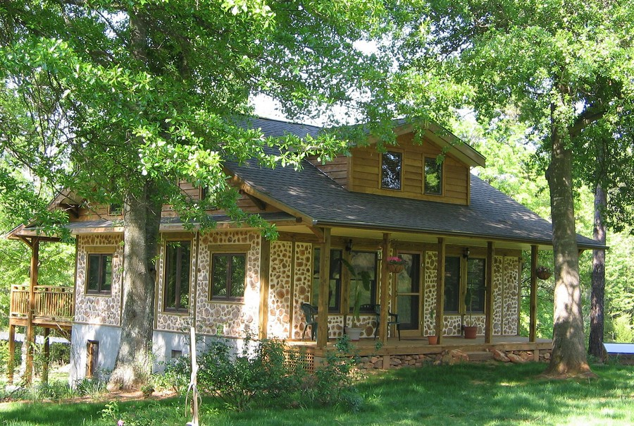 Cordwood houses interesting facts and tips home for Cordwood home designs