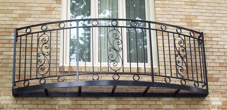 13-beautiful-balconet-balconette-Juliet-balcony-in-architecture-exterior-design-wrough-metal-railing-forgery-barrier