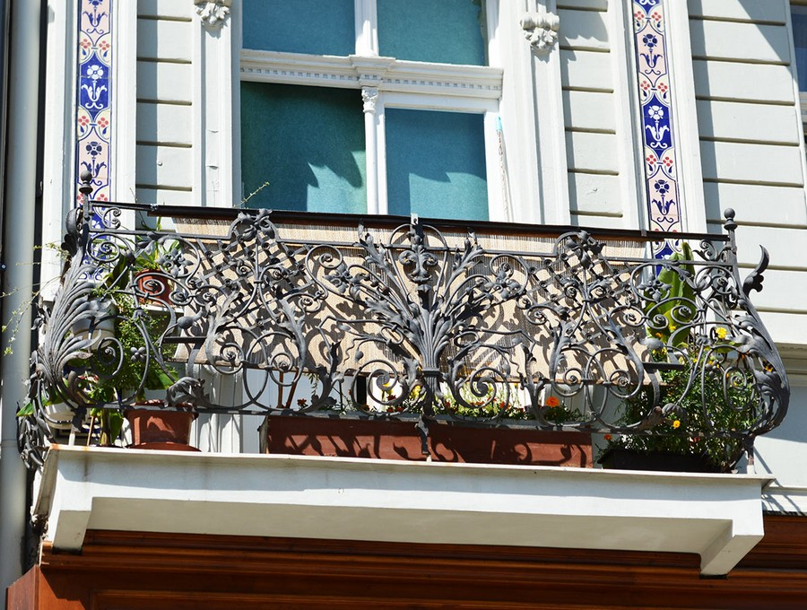 17-beautiful-balconet-balconette-Juliet-balcony-in-architecture-exterior-design-wrough-metal-railing-forgery-barrier-flower-bed