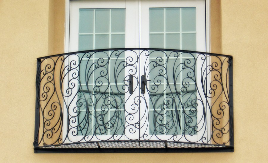19-beautiful-balconet-balconette-Juliet-balcony-in-architecture-exterior-design-wrough-metal-railing-forgery-barrier