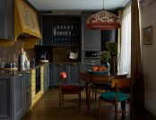 Ethnic Apartment Inspired by Portuguese & Central Asian Motifs