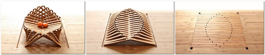2-3-The-Rising-shell-fruit-bowl-by-Robert-van-Embricqs-Dutch-designer-wooden-furniture-bamboo-folding-transforming