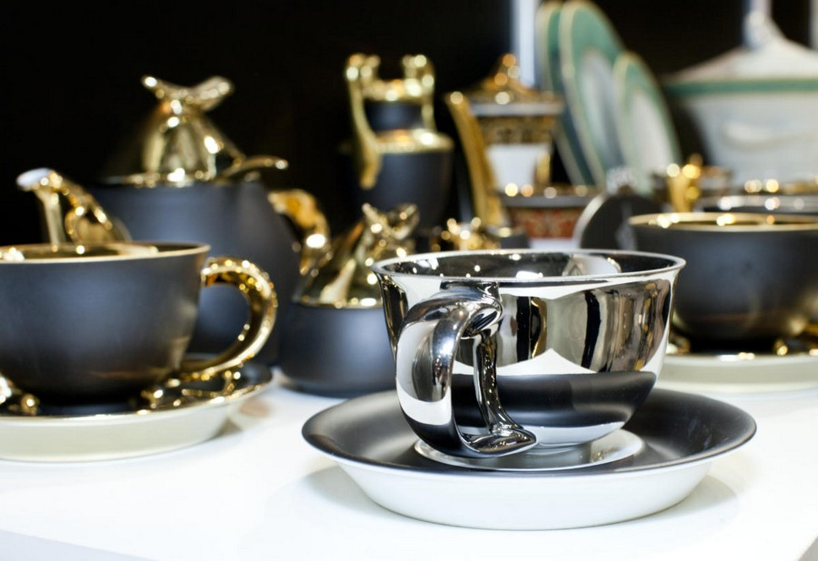 2-3-new-collection-of-tableware-and-home-decor-2017-Rudolf-Kämpf-vogue-black-and-silver-golden-cups-saucers-tea-set