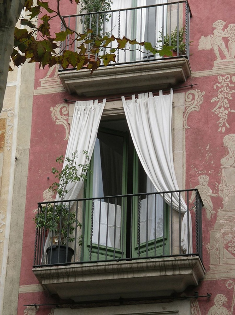 22-beautiful-balconet-balconette-Juliet-balcony-in-architecture-exterior-design-wrough-metal-railing-forgery-barrier-flower-bed