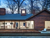 Charred Wood Siding: Inexpensive and Spectacular