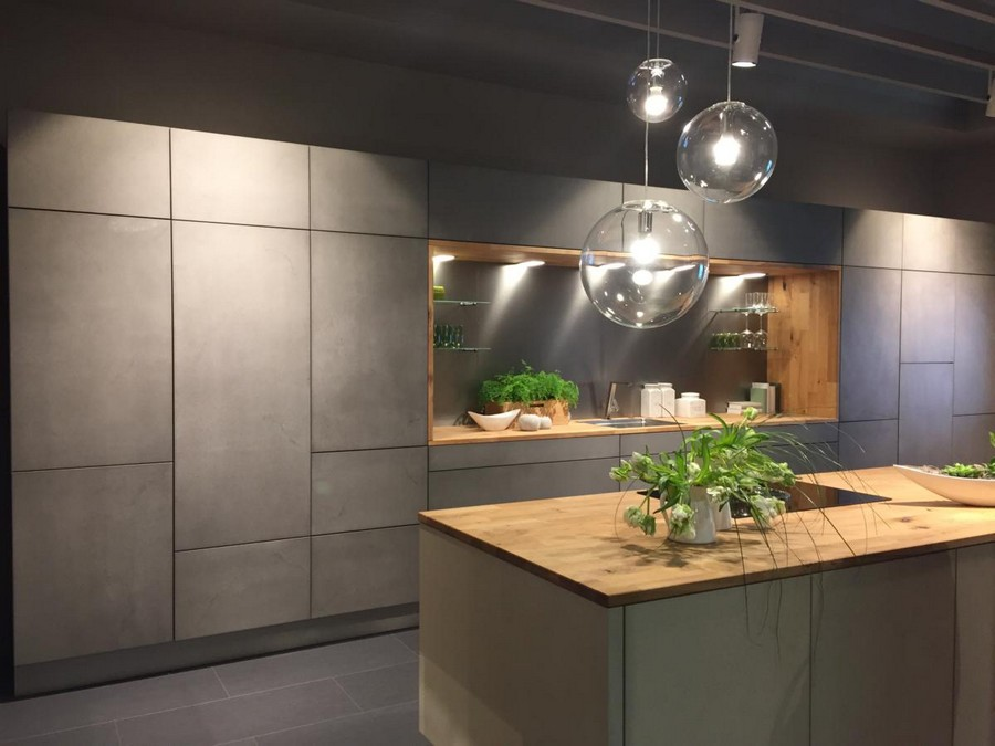 4-2-Sachsenküchen-kitchen-set-design-at-LivingKitchen-show-in-Cologne-Germany-2017-international-exhibition-gray-concrete-minimalistic