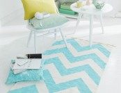DIY: Trendy Rug with Zigzag Pattern