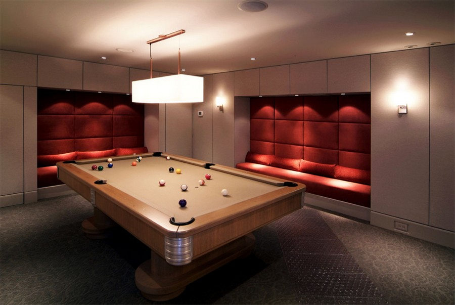 Billiards room interior design tips and ideas home for Design small room interior