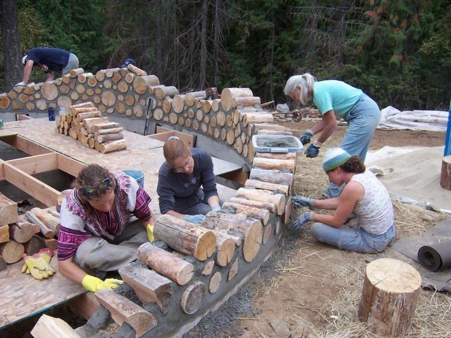 5-cordwood-technology-technique-eco-friendly-house-construction-building-walls-mortar-mix