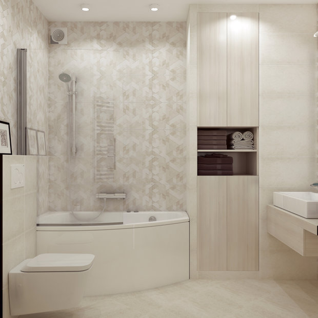 8-1-contemporary-style-interior-design-in-white-beige-gray-bathroom-bathtub-suspended-water-closet-wash-basin-cabinet