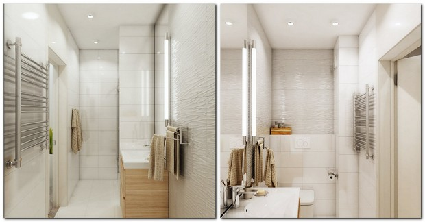 9-2-contemporary-style-interior-design-white-beige-gray-bathroom-wash-basin-cabinet-wooden-3D-tiles
