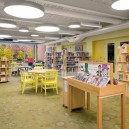 Tappe-Architects-small-town-LEED-platinum-Athol-Public-lbrary-Massachusetts-USA-interior-design-children's-room-hall-book-shelves-collection-panoramic-window-view