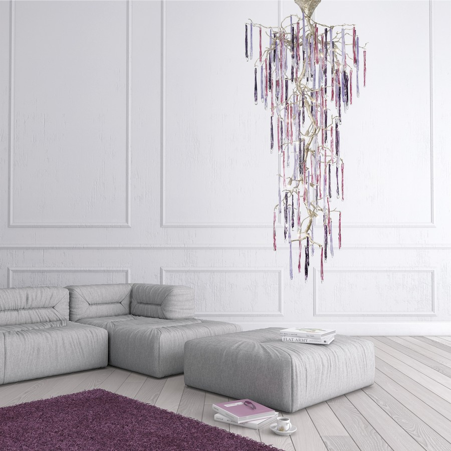 chandelier-in-interior-design (3)-Serip-Portugal-Glamour-collection-lamps-in-bronze-metal-and-glass