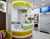 Cheerful Dentist's Office That You Would Like to Visit Again & Again
