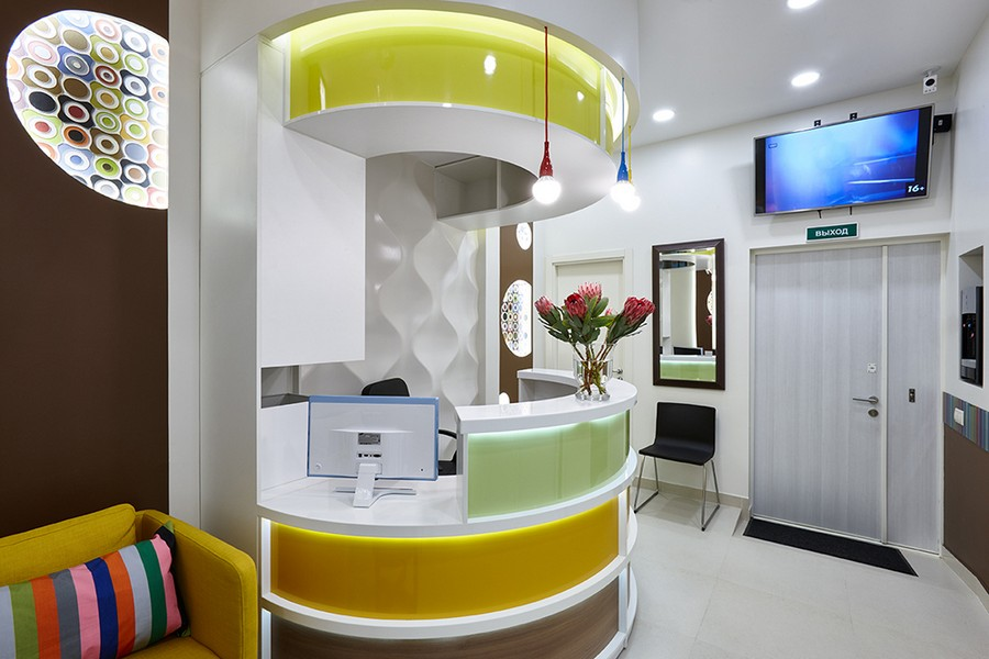 Cheerful Dentist S Office That You Would Like To Visit Again Amp Again Home Interior Design
