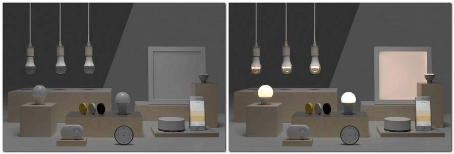 tradfri ikea launches a collection of smart home lights. Black Bedroom Furniture Sets. Home Design Ideas
