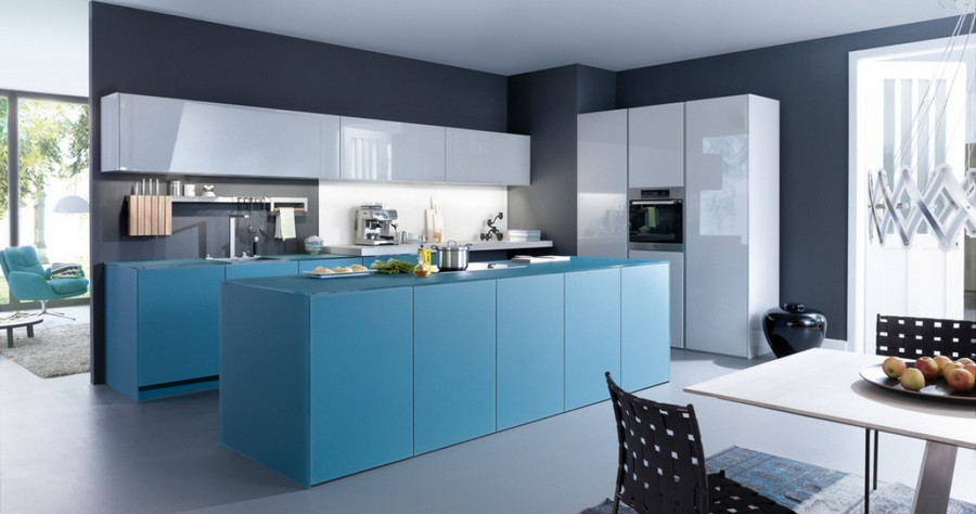 20 Trendy Blue Kitchen Sets In Interior Design Home
