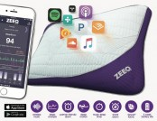 ZEEQ Smart Pillow: Streams Music, Stops Snoring & Wakes Up Smartly