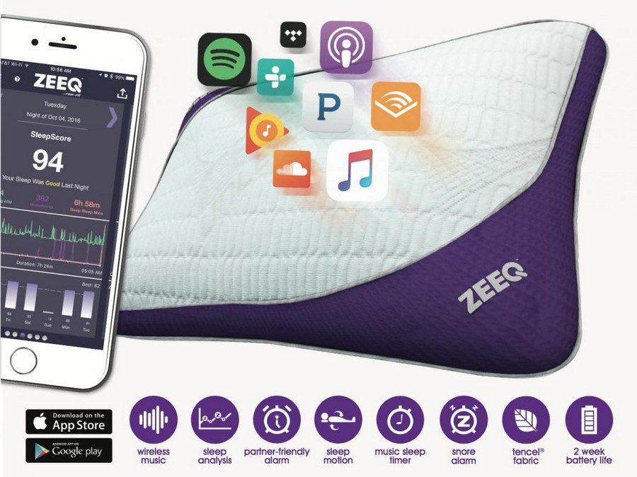 1-REM-Fit-Company-ZEEQ-smart-pillow-with-built-in-sensors-hardware-speakers-wireless-operated-via-mobile-app-smart-snore-alarm