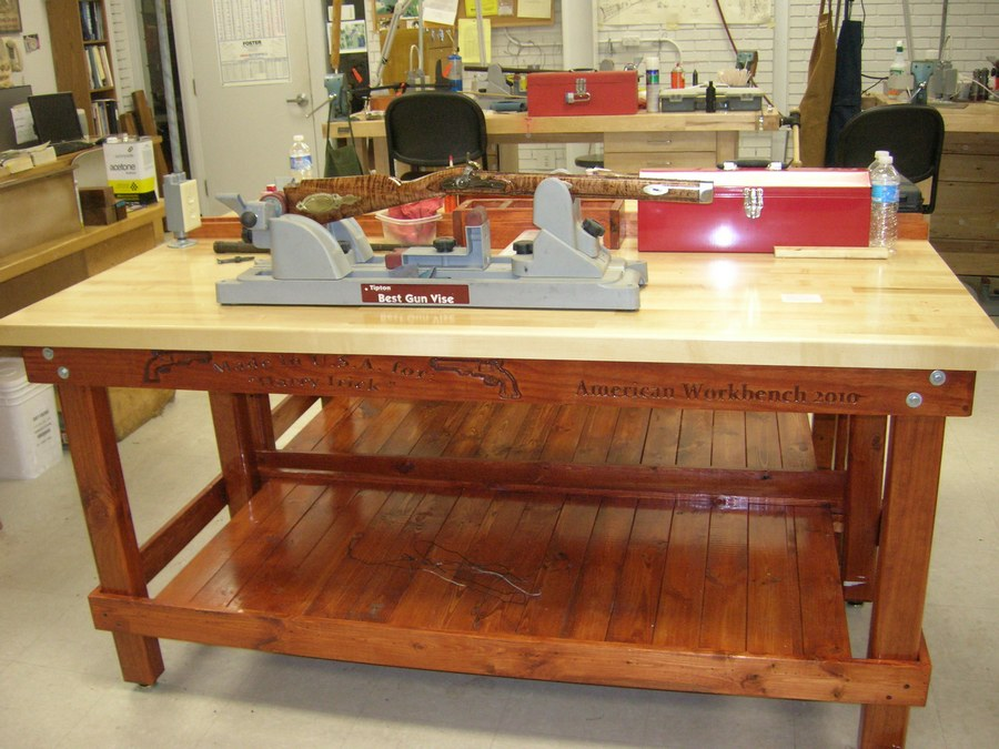How to fit out your workshop without robbing a bank home for Working table design ideas