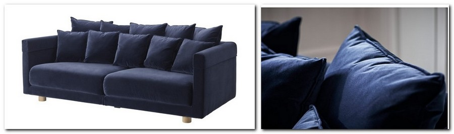 14-blue-sofa-couch-with-throw-pillows-velvet-by-IKEA-Sweden-new-collection-Stockholm-2017