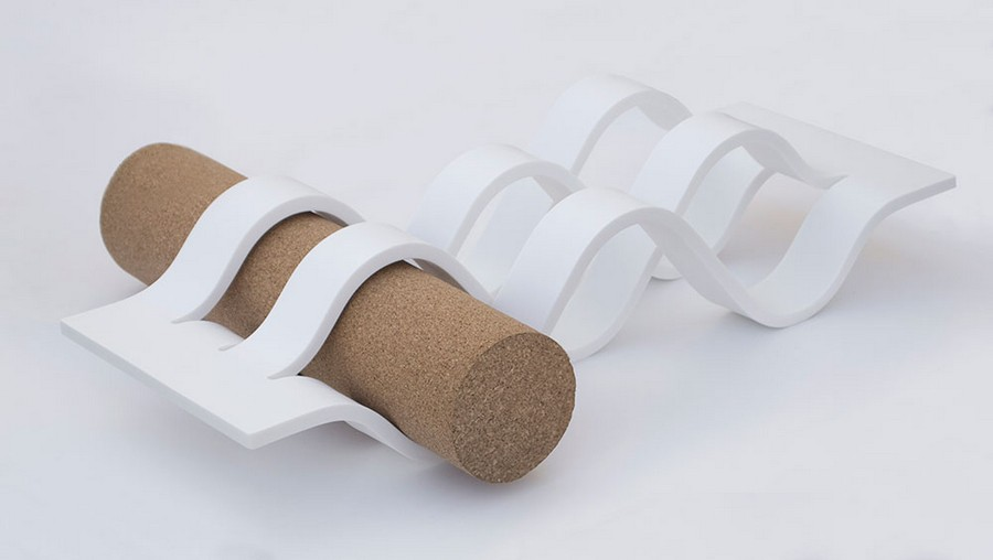 2-creative-wave-design-wine-bottle-holder-accessory-HILLS-by-Goncalo-Campos-Portugal-&Blanc-white-Corian