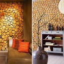 2-tree-wood-cross-sections-cuts-in-interior-design-decor-accent-wall-finish-eco-style