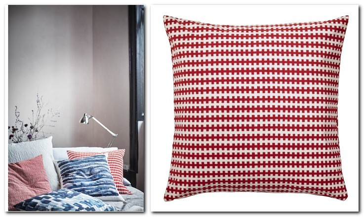 21-cotton-duck-feather-filling-throw-pillow-couch-decorative-orange-red-and-white-by-IKEA-Sweden-new-collection-Stockholm-2017