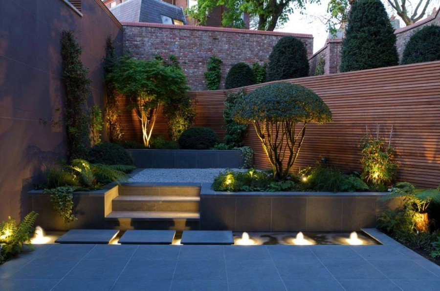 3-4-outdoor-garden-landscape-lighting-ideas-pond-underwater-lights-steps-gravel