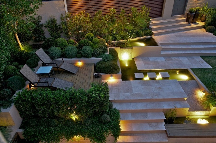 3-5-outdoor-garden-landscape-lighting-ideas-pond-underwater-lights-steps-deck-lights-chaise-lounges