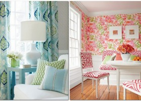 3-mixing-patterns-and-prints-in-interior-design-decorating-geometrical-and-floral-motifs-flowers-curtains-furniture-upholstery-home-textile-fabrics